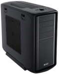 CORSAIR Graphite Series 600T Black Mesh Mid-Tower Chassis - 4x 5