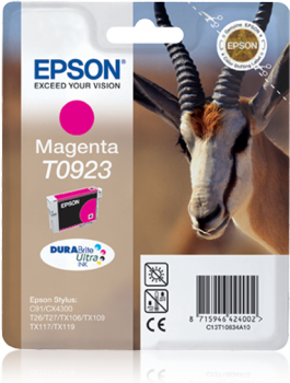 EPSON T0923 MAGENTA INK CARTRIDGE
