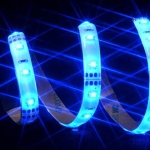 Vizo LED-BL-1000W - LED strips - Blue, 60 LEDs, 100cm, with Wate