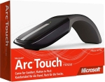 Microsoft Arc Touch Black - 2.4ghz wireless laser mouse