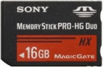 Sony 16GB High-Speed Memory Stick Pro Duo