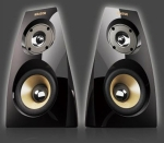 Krator Neso4 N4-20U16 piano Black 2.0 channel Speakers