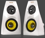 Krator Neso4 N4-20U16 piano White 2.0 channel Speakers