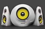 Krator Neso4 N4-21U26 piano White 2.1 channel Speakers