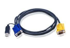 ATEN 6M/ HD15&USB A TYPE MALE TO SPHD15MALE