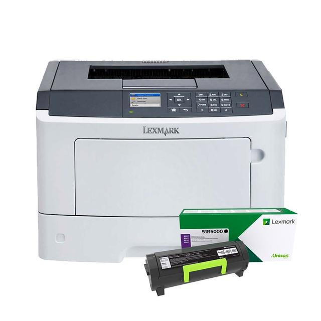 LEXMARK MS417DN  BLACK TONER