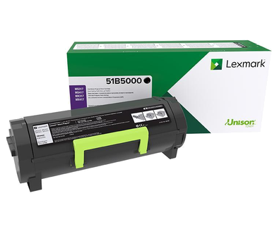 LEXMARK BLK TONER YIELD 2,500 PAGES