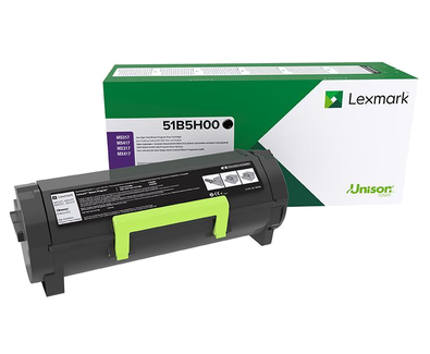 LEXMARK HIGH YIELD BLK TONER YIELD 8,500 PAGES