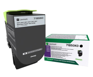 LEXMARK BLK STD TONER YIELD 3,000 PAGES