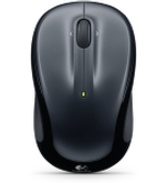 LOGITECH WIRELESS MOUSE M325 (GYRO) DARKSILVER