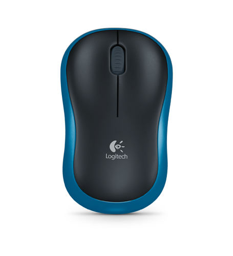LOGITECH WIRELESS MOUSE M185,BLUE,EWR2