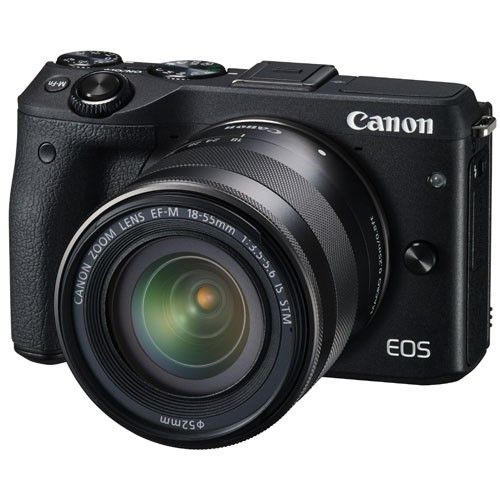 CANON EOS M3 1855 EFM LENS KIT MIRRORLESS CAMERA