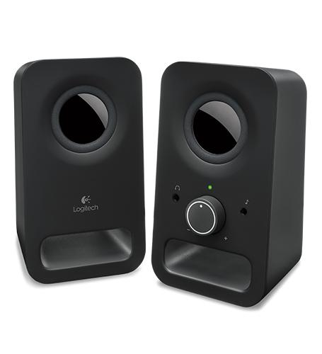 LOGITECH Z150 SPEAKERS  BLACK