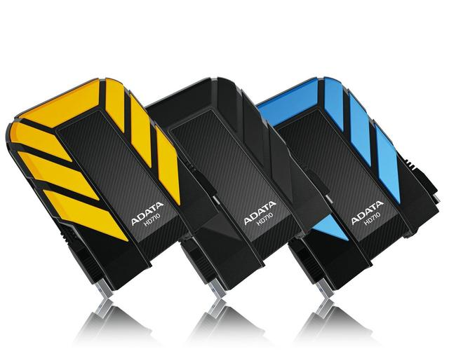 ADATA HD710 2TB EXT USB 3.0 HDD YELLOW 2.5