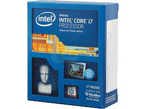INTEL CORE I75820K 3.30GHZ LGA2011V3  NO FAN
