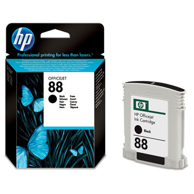 HP  88 BLACK INK CARTRIDGE (22.8ML)