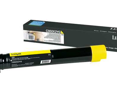 LEXMARK 22000 PAGE YIELD YELLOW TONER