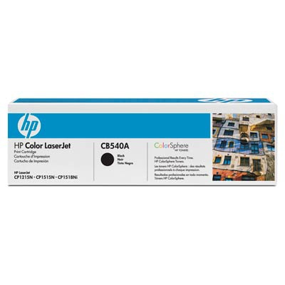 HP Black Toner For CP1215 / CP1515N / CP1518NI