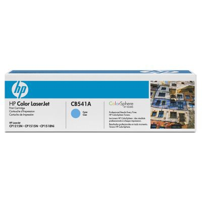 HP 125 Cyan Laserjet Cart up to 1;400 pages