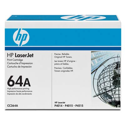 HP  64A LASERJET P4014/P4015/P4515 BLACK PRINT CARTRIDGE.