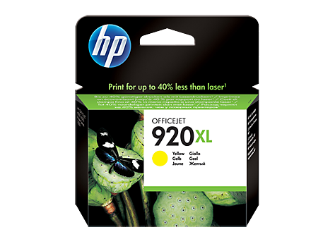 HP 920XL Yellow Officejet Ink Cartridge 700 pages