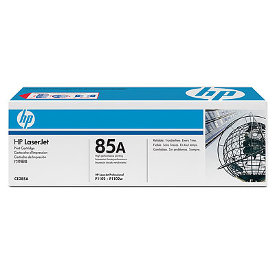 HP  85A LASERJET P1102/P1102W BLACK PRINT CARTRIDGE.