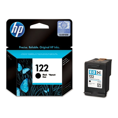 HP 122 Black Ink Cart Deskjet AIO 1050; 2050 120