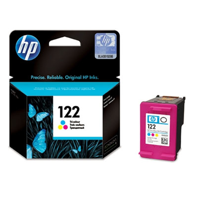 HP 122tricolour Ink Cart Deskjet AIO 1050; 2050