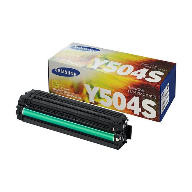 SAMSUNG YELLOW TONER (1800 PAGE YIELD)