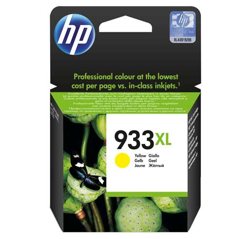 HP  933XL YELLOW OFFICEJET INK CARTRIDGE  NEW