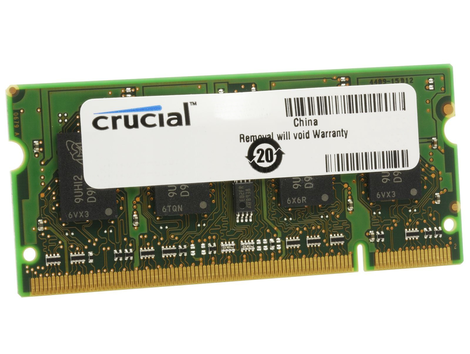 Crucial 4GB DDR3L 1600MHz SODIMM Single Rank
