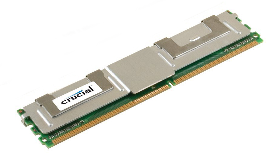Crucial 4GB DDR2 667MHz ECC Fully Buffered Dimm