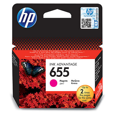 HP  655 MAGENTA INK CARTRIDGE FOR HP DJ 4615