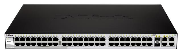 DLINK 48 PORT 10/100 SWITCH WITH 2 COMBO 1000 SFP