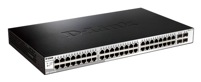 DLINK 48PORT 10/100/1000 4SFP WEBSMART SWITCH
