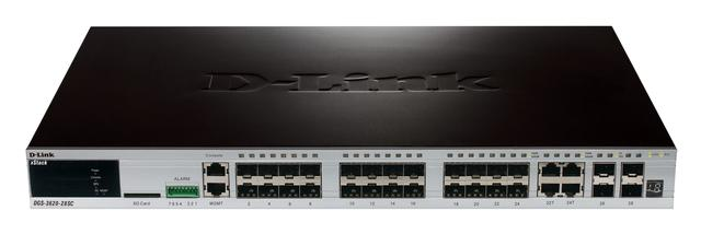 DLINK 20PORT SFP L3 MANAGEMENT WITH 4X 1GB PORTS