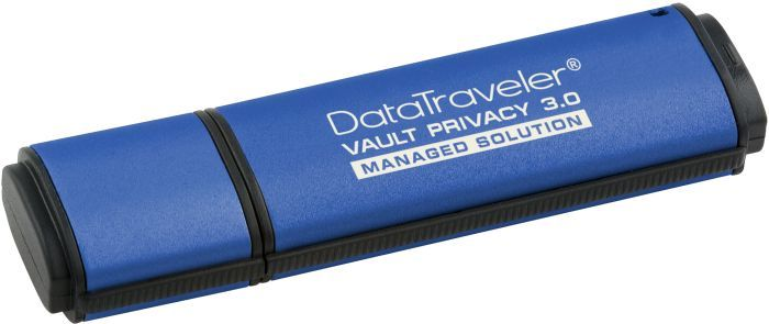 KINGSTON 8GB  USB 3.0 DTVP30, 256BIT AES