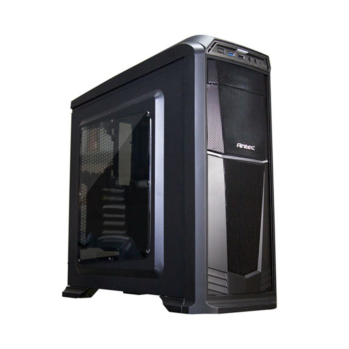 Antec GX330 Gaming Chassis Black With Window