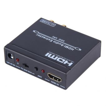 HDCVT HDMI1.4 to HDMIAudio Repeater