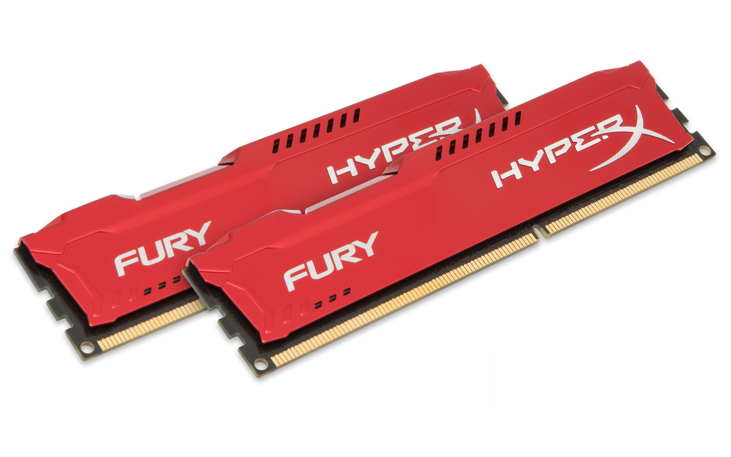 8GB 1866MHz DDR3 CL10 DIMM (Kit of 2) HyperX FURY Red