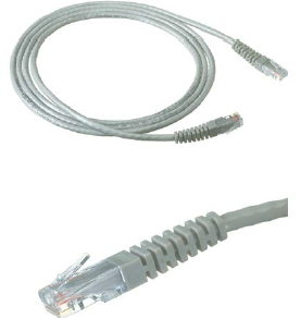 KRONE CAT5E UTP PATCH CORD GREY 30MT MOULDED