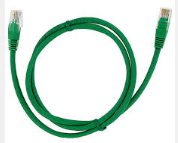 KRONE CAT6 UTP PATCH CORD GREEN 1MT MOULDED