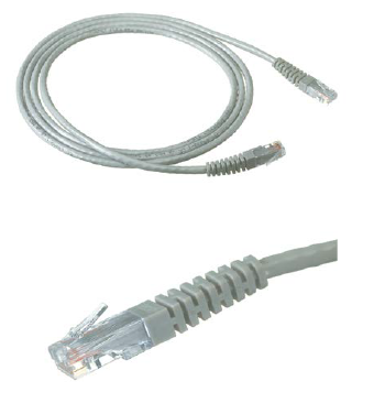 KRONE CAT6 UTP PATCH CORD GREY 30MT MOULDED