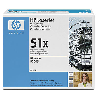 HP  51X LASERJET P3005/M3027/M3035 BLACK PRINT CARTRIDGE.