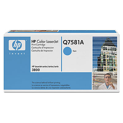 HP  503A COLOR LASERJET 3800 CYAN PRINT CARTRIDGE.
