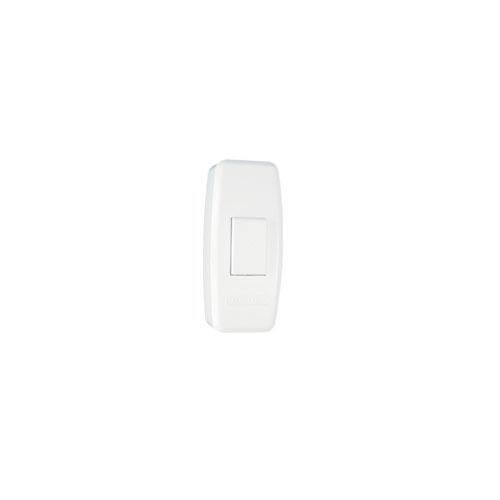 WHITE PUSHBUTTON SWITCH