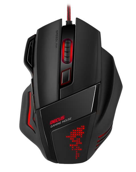 Speedlink DECUS Gaming Mouse Black