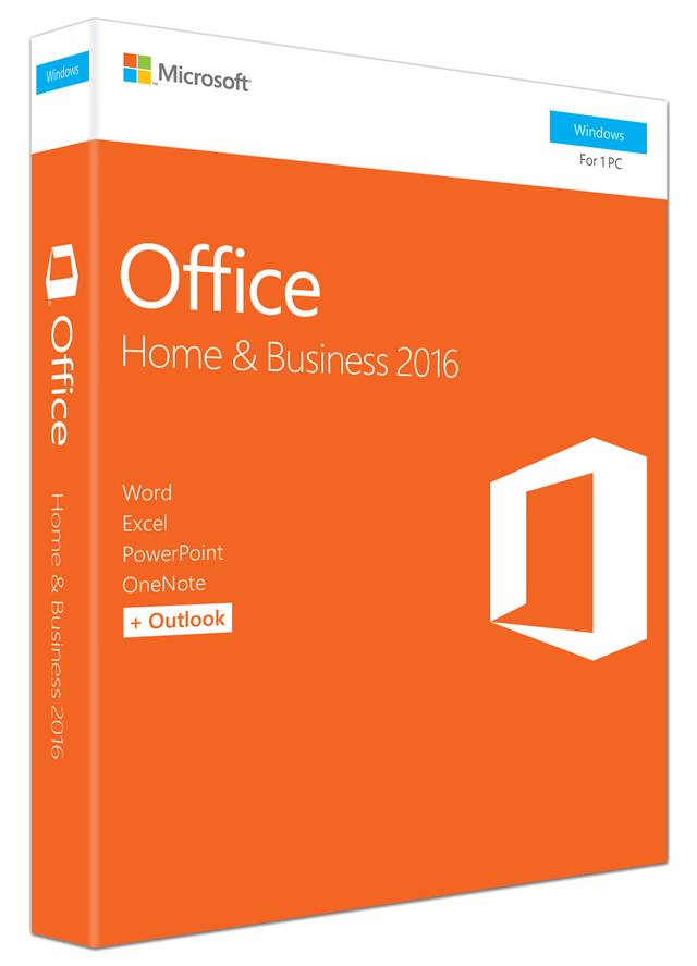 MICROSOFT OFFICE HOME & BUS 2016 32BIT/X64 ENG DV