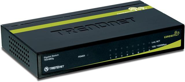 TRENDNET 8PORT GIGABIT GREENET SWITCH