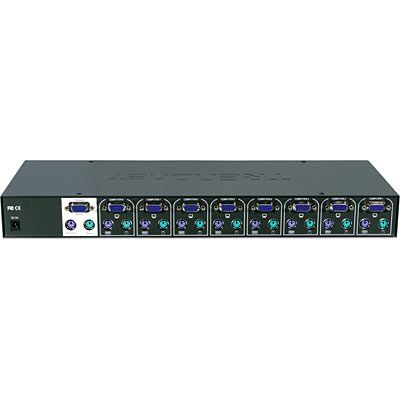 TREND 8 PORT PS2 KVM RACK MOUNT